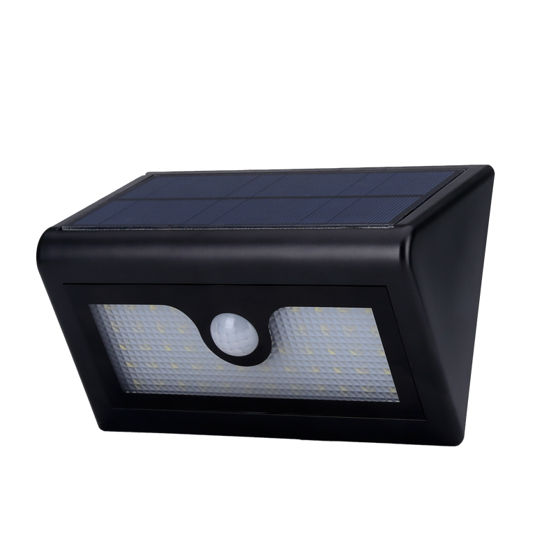 Wholesale Outdoor Solar Security LED Light (IP65 Waterproof, 480 Lumen, 4000mAh, Motion Detection)