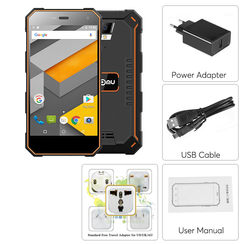 Nomu S10 Rugged 4g Dual Sim Android Phone Ip68 Waterproof
