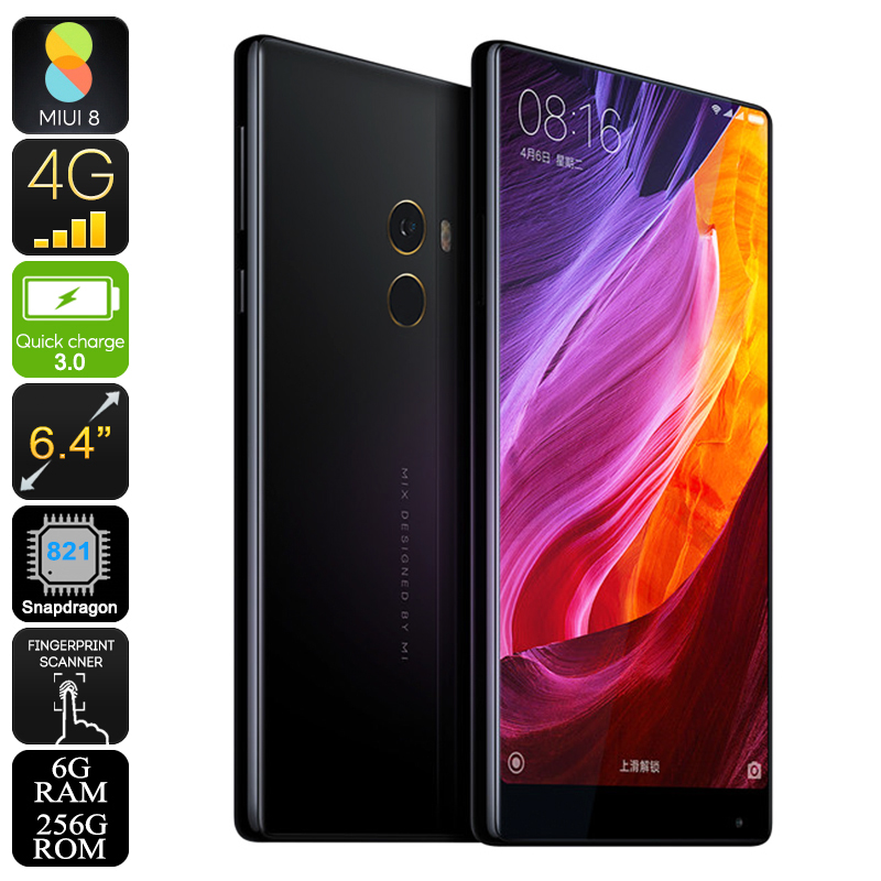 Wholesale Xiaomi Mi MIX 256GB Smartphone with Bezel-less 6.4 Inch Screen (