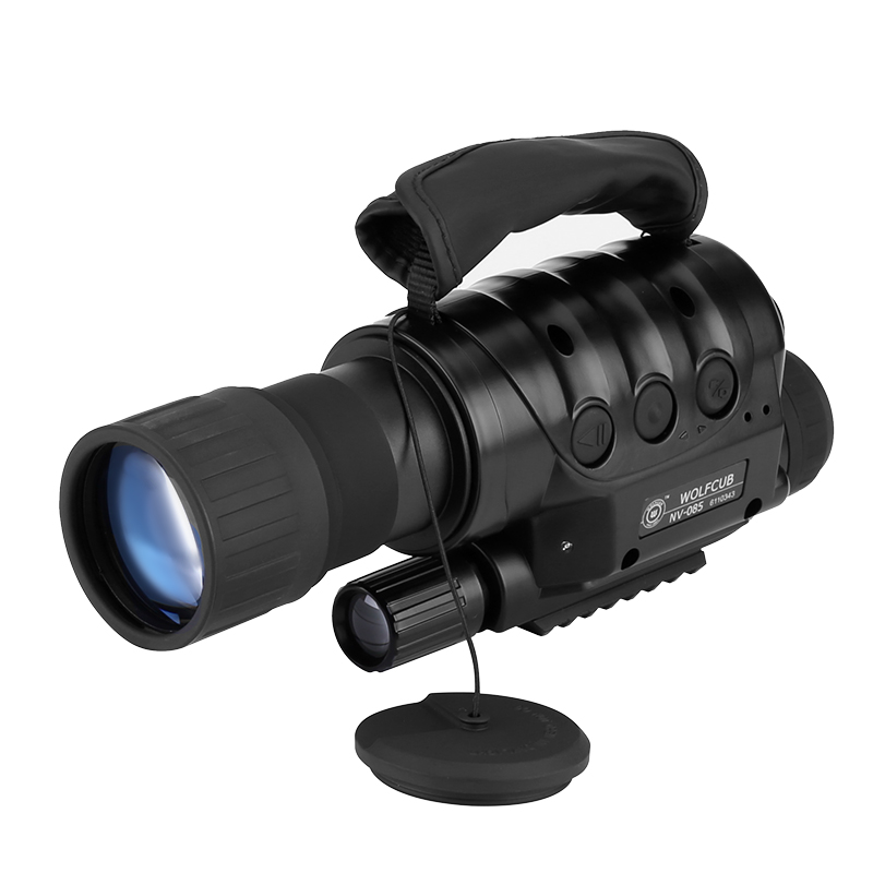 Wholesale Rongland NV-650D+ Portable Night Vision Monocular for Outdoors (Camera Record, 6x Zoom, 720m Range, Weatherproof)