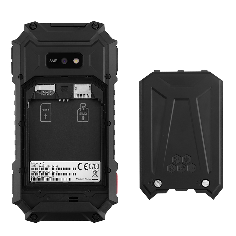 Rugtel X10 4 5 Inch 4g Rugged Smartphone Ip68 Waterproof