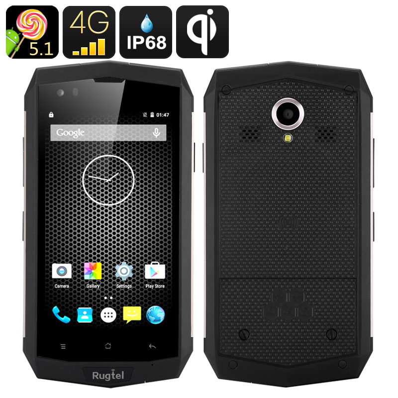 Wholesale Rugtel X16 Rugged NFC 4G Android Phone (IP68 Waterproof, 4.5 Inc