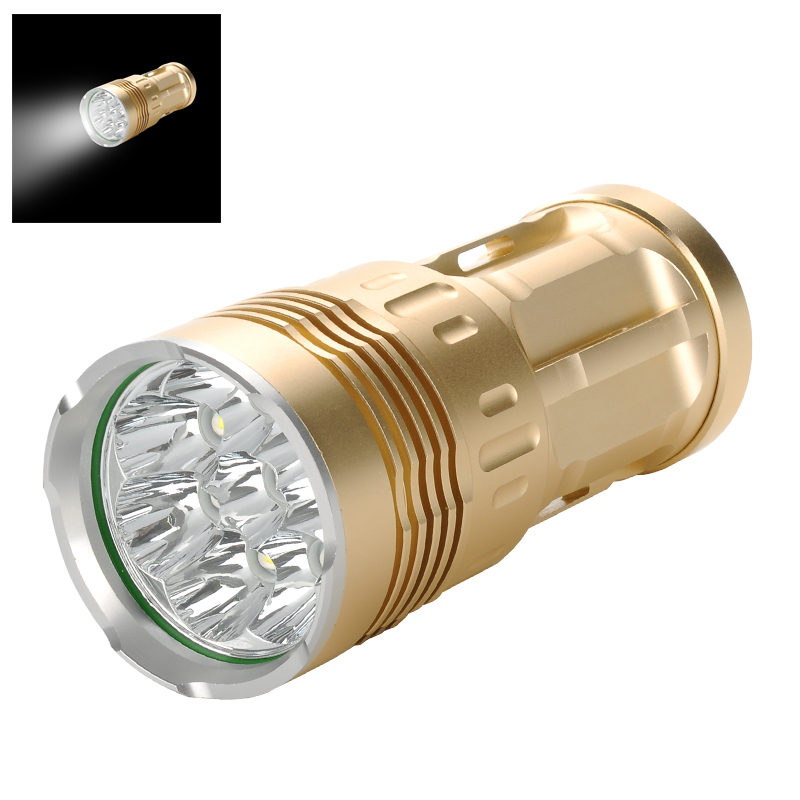 Wholesale Skyray CREE T6 LED Flashlight (6400 Lumen, IPX6 Waterproof, Alum