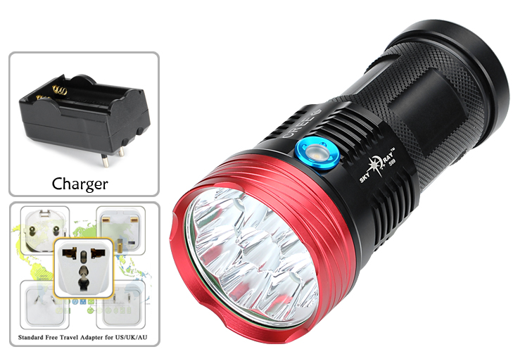 images/electronics-2017/Skyray-S99-CREE-LED-Flashlight-9-CREE-LEDs-9600-Lumen-Aluminum-Body-3-Modes-Range-100-to-200-Meters-plusbuyer_8.jpg