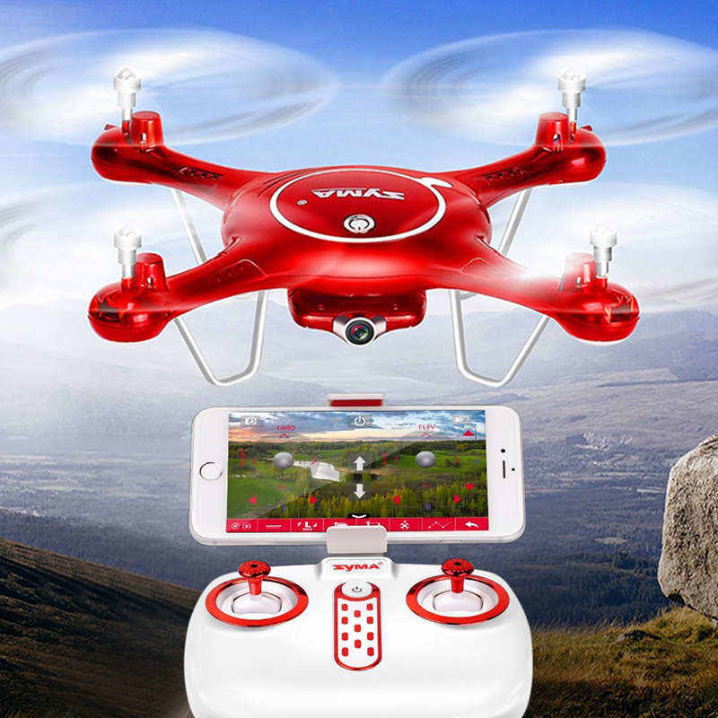 Wholesale SYMA X5UW Quadcopter + 720p FPV Camera with Remote Control (RC Toy for iOS/Android, 6 Axis, 30m Range)