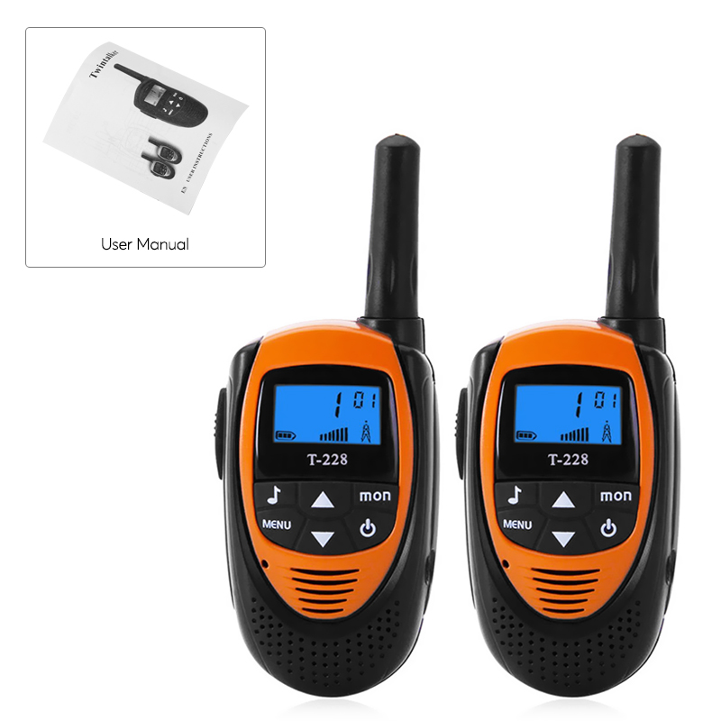 images/electronics-2017/T-228-Walkie-Talkies-22-Channels-99-Sub-Codes-Backlit-LCD-Display-4KM-Range-Belt-Clip-Orange-plusbuyer_8.jpg