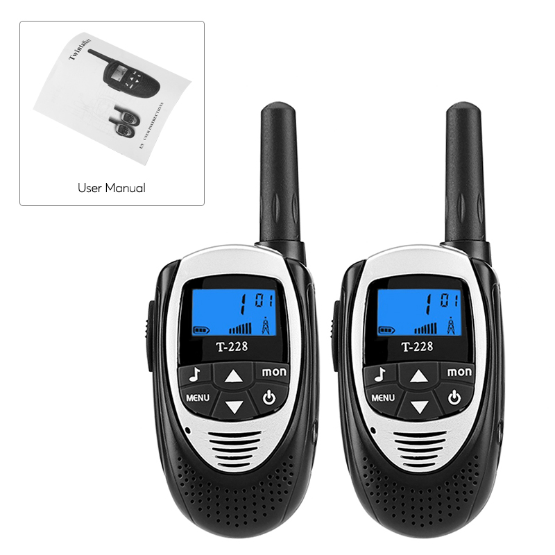 images/electronics-2017/T-228-Walkie-Talkies-4KM-Range-22-Channels-99-Sub-Codes-Belt-Clip-Backlit-LCD-Display-Black-plusbuyer_7.jpg