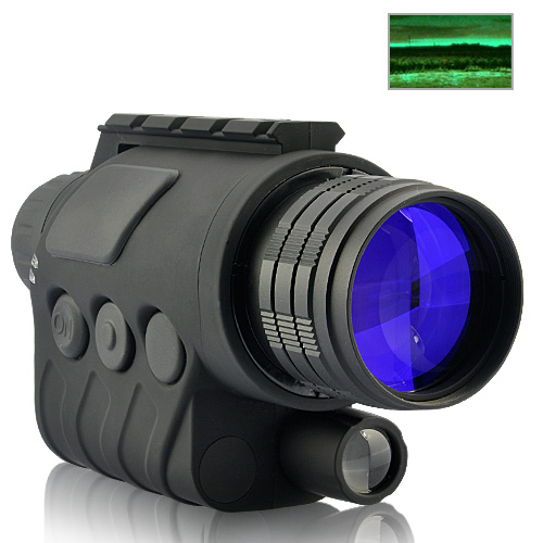 Wholesale Tactical Night Vision Monocular with 3x Magnification and IR Illumination