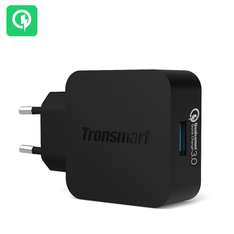 Wholesale Tronsmart Quick Charge 3.0 USB Rapid Wall Charger (EU Plug, 1.8 Meter)