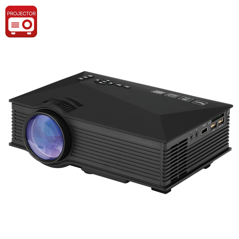 Wholesale UNIC UC46 Portable LCD LED Projector for Home/Office (1920x1080, 130 Inches, 1200 Lumens, HDMI)