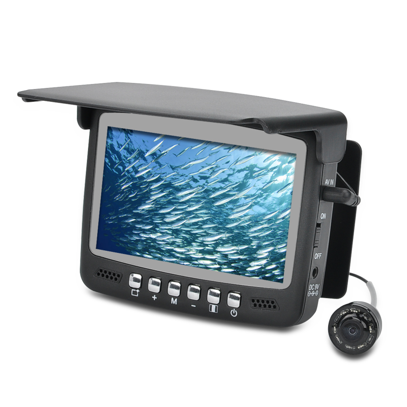 Wholesale Underwater Fish Finder Video Camera (1/3 Inch CMOS, 4.3 Inch Screen, 15M Cable, 960x240)