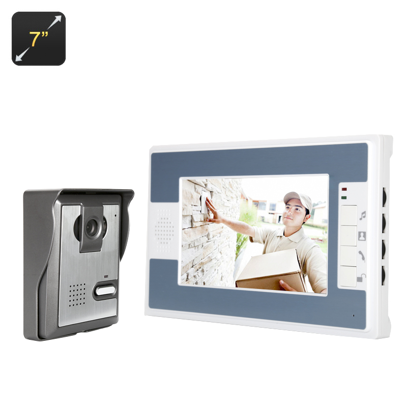 Wholesale Video Door Phone with 700TVL Outdoor Camera and 7 Inch Screen (Night Vision, Weather Proof, Electronic Lock)