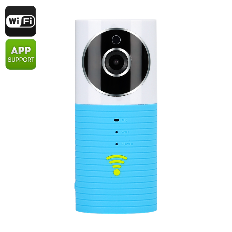 Wholesale Teddy Bear - Two Way Audio Wi-Fi Baby Monitor (1/3 Inch CMOS, Motion Detection, Night Vision, SD Card Recording)