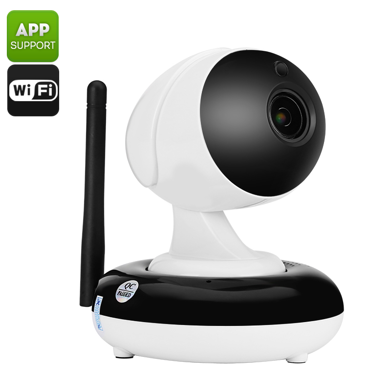 Wholesale Two Way Audio HD 720p Wi-Fi IP Camera (1/3 Inch CMOS Sensor, 3X Optical Zoom, Night Vision, Mobile Viewing)