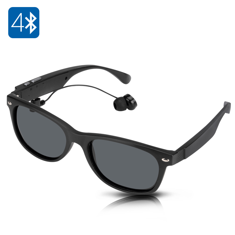 Wholesale Hands Free Wireless Bluetooth Sunglasses (Call Answer, Play Music)