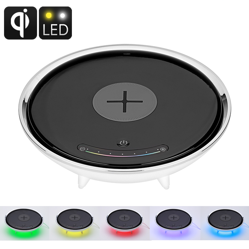 Wholesale Qi Wireless Charging LED Color Light (Millions Of Colors, Smart Home Accessory)