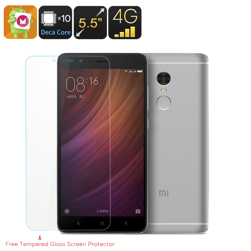 Wholesale Xiaomi Redmi Note 4 Deca Core Android 6.0 Smartphone (5.5 Inch FHD, 3GB RAM, Fingerprint, 64GB)