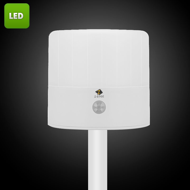 Wholesale Z-Edge PIR LED Lamp for Indoor/Outdoor (43 Lumen, IP54 Waterproof)