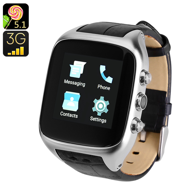 Wholesale iMacwear M8 Wi-Fi Smart Android Watch Phone (IP65, 3G, 1.54 Inch