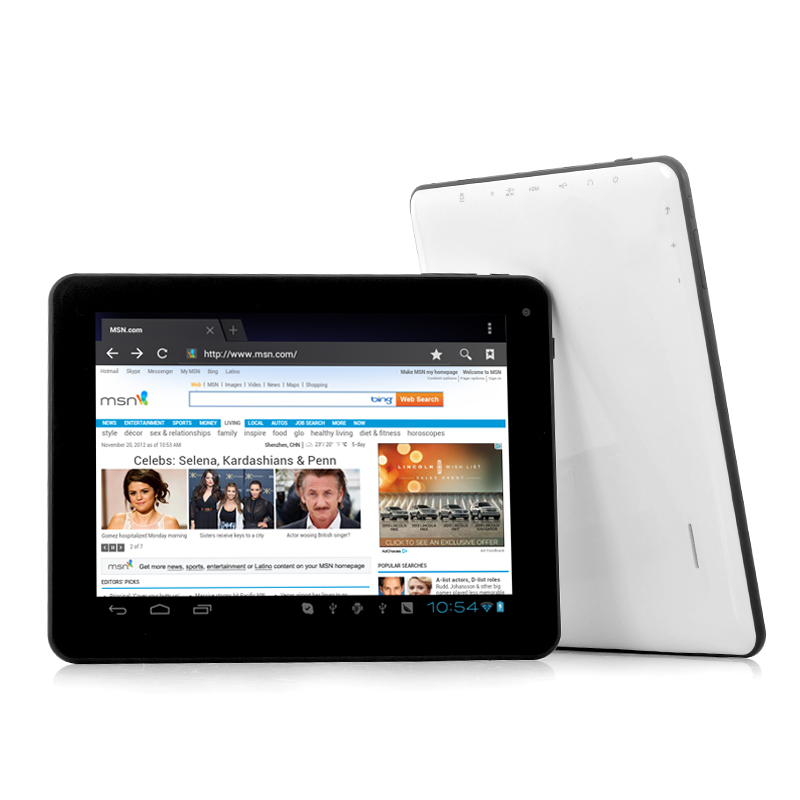 Wholesale Bolt - 8 Inch Multi Touch Android 4.0 Tablet PC with 1.2GHz CPU and 1GB DDR3 RAM