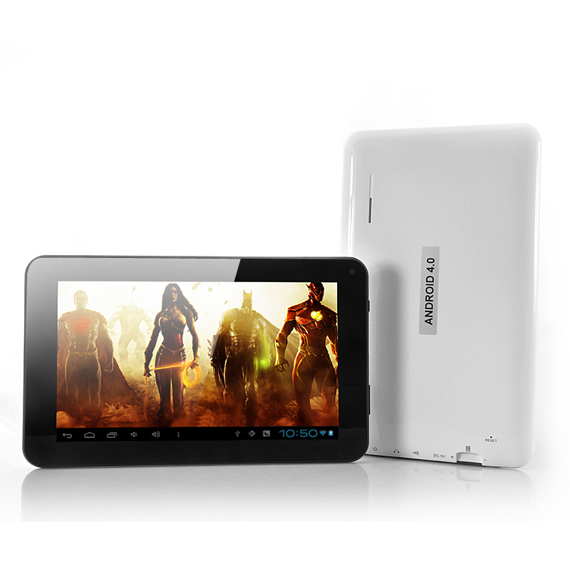 Wholesale Sonic - 7 Inch Screen Android 4.0 Tablet PC with 1GHz CPU (White, 5 Point Multi Touch)