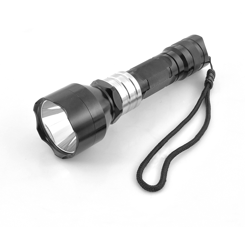 Wholesale CREE R5 Green Light LED Flashlight (260 Lumens, Weatherproof, Metal)
