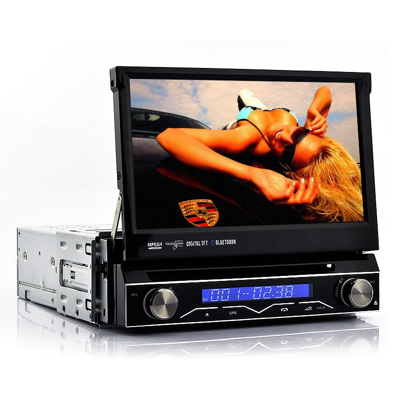 Wholesale Shockwave - 7 Inch Touchscreen 1 DIN Car DVD with GPS, DVB-T