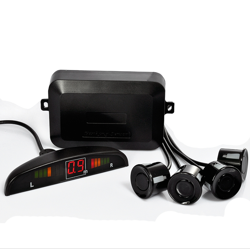 Wholesale Vehicle Parking Sensor with 4 Sensors and LED Display (Distance Alarm, Easy to Install)