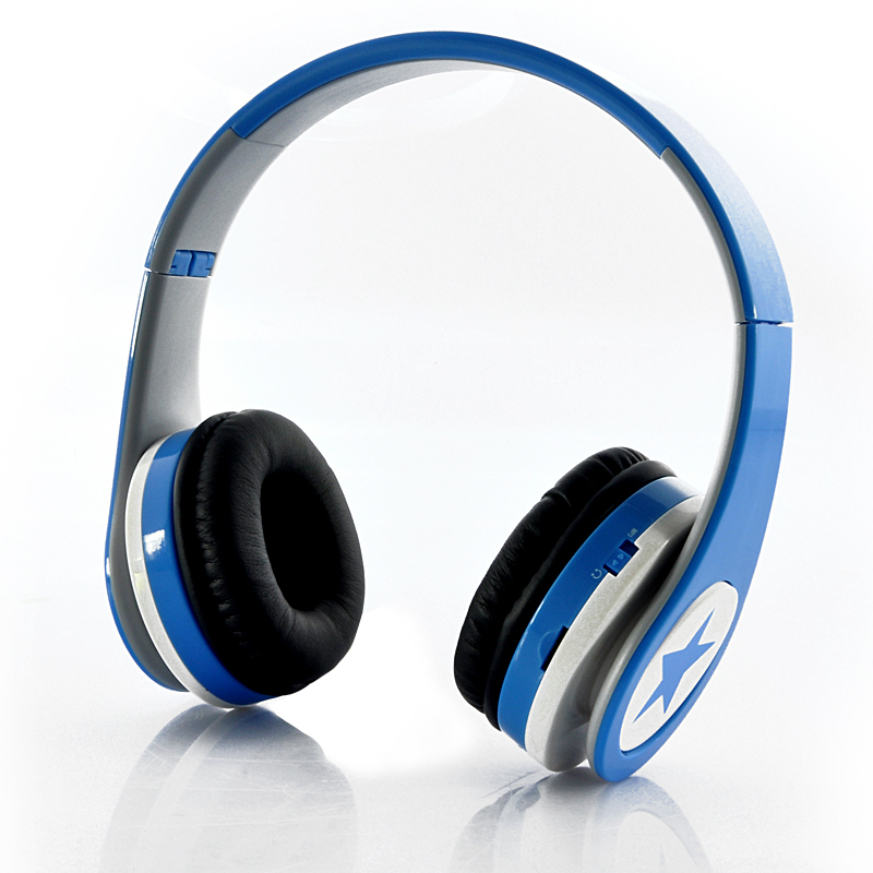 Wholesale Foldable MP3 Headphones with FM Radio