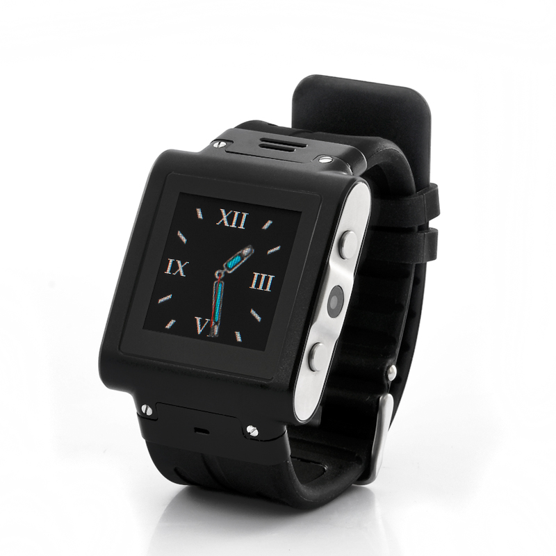 Wholesale Trix - Waterproof Mobile Phone Watch with Stainless Steel Case