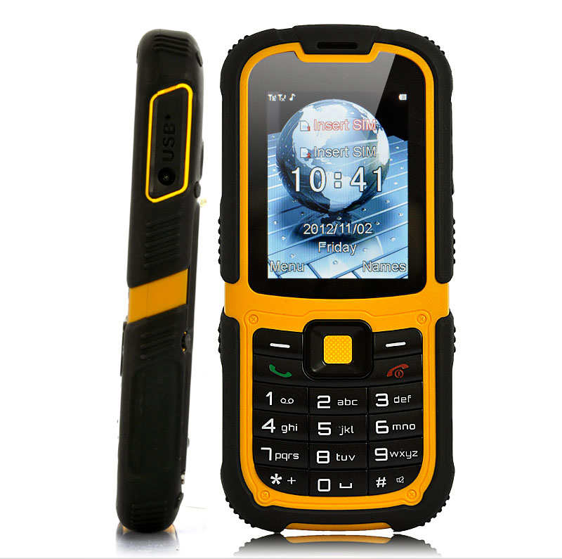 Wholesale Rugged Dual SIM Mobile Phone with 2.2 Inch Screen (Waterproof, S