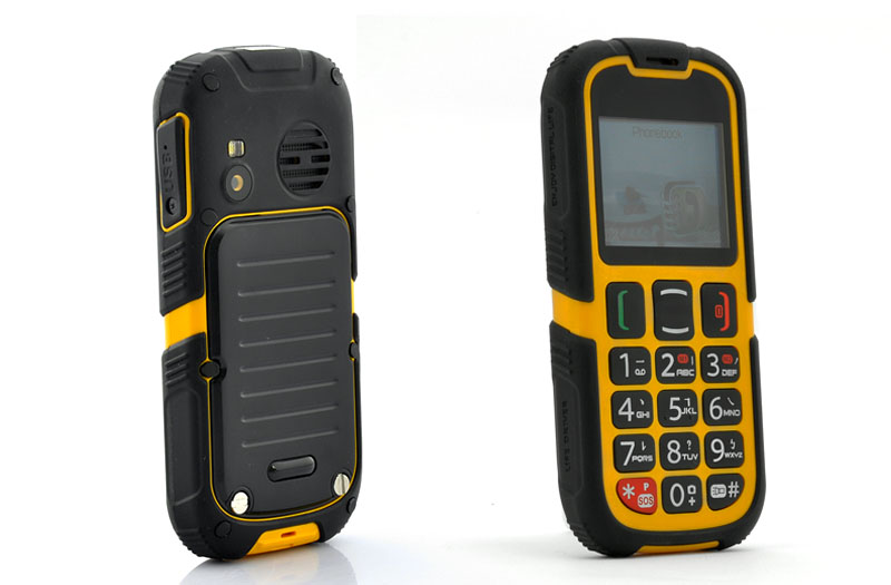 Wholesale Rugged Senior Citizen Phone (Dual SIM, Quad Band, Bluetooth, SOS