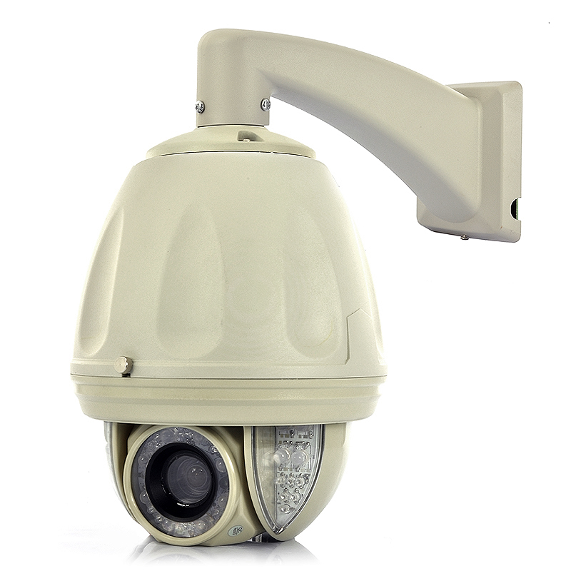 "Wholesale Raptor - Two Way Audio PTZ Speed Dome IP Camera with 1/4"" Sony CCD, 27x Optical Zoom, 80m IR Range"