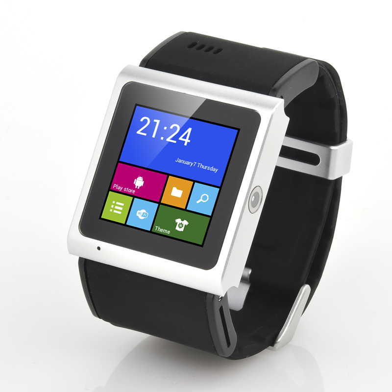 Wholesale Tigon - 1.54 Inch 3G Android 4.0 Smart Watch (MTK6577 1GHz Dual Core CPU, 3MP, Black)
