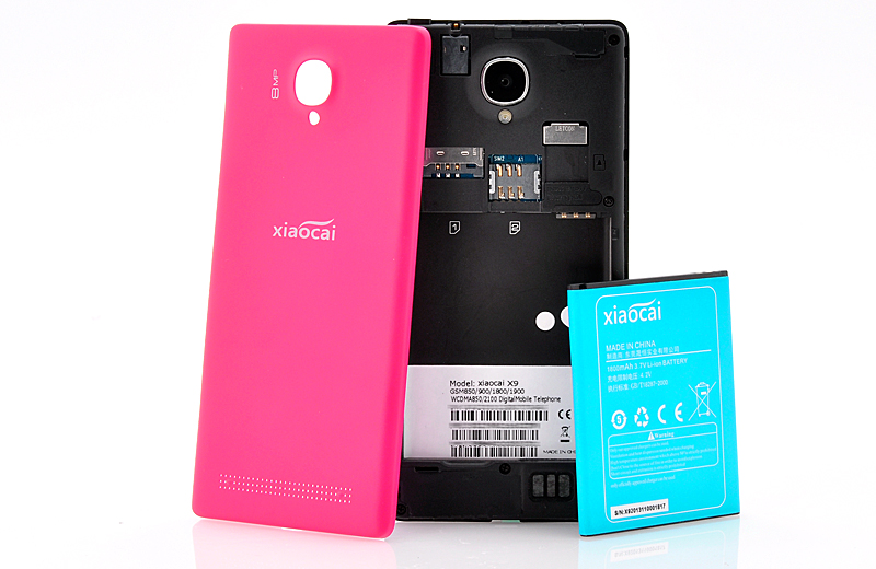 XiaoCai X9S - Ultra Slim Android 4 2 Phone with 4 5 Inch QHD