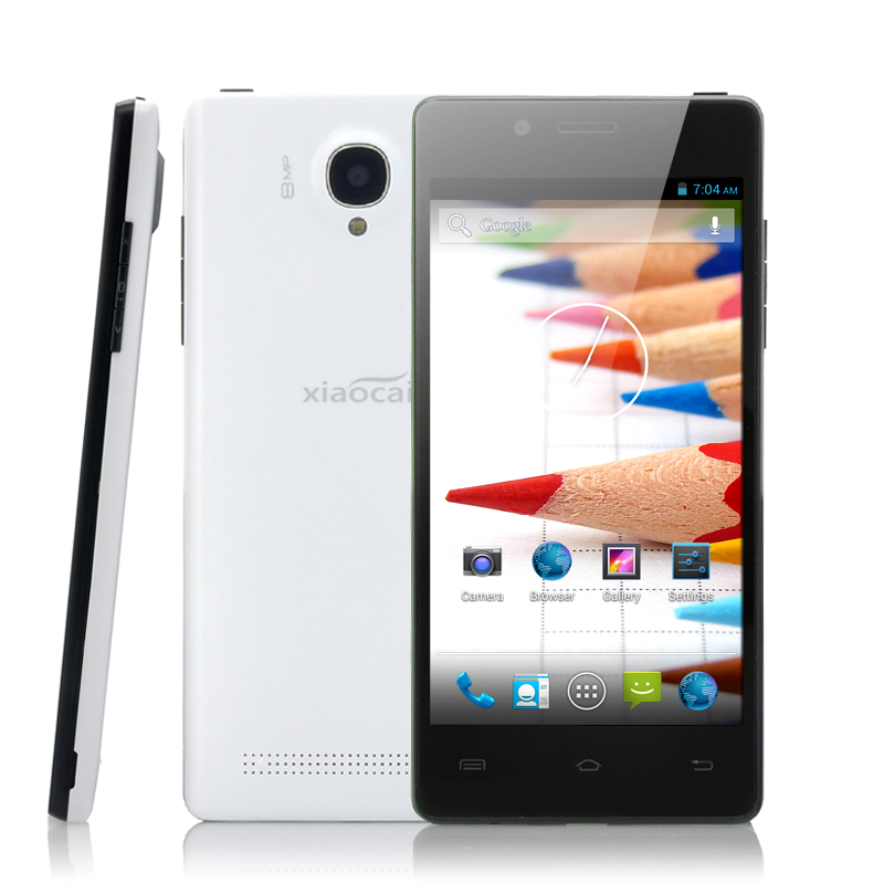 images/electronics-china/4-5-Inch-Android-Phone-XiaoCai-X9S-Quad-Core-1-3GHz-CPU-QHD-OGS-Display-Ultra-Thin-White-plusbuyer.jpg
