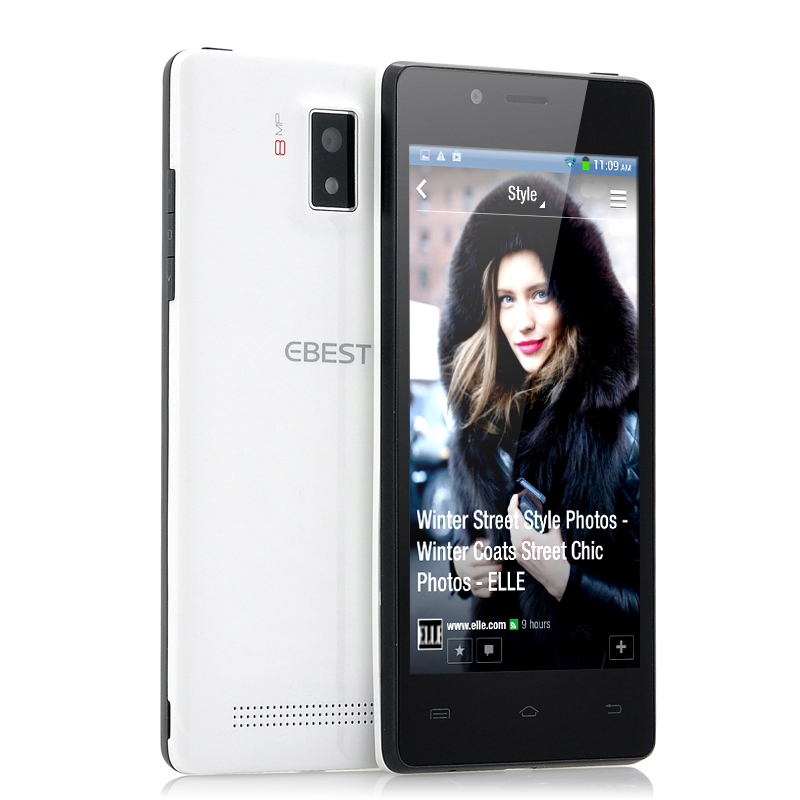 Wholesale EBEST Z5 - Ultra-Thin 4.5 Inch Quad Core Android Phone (QHD Scre
