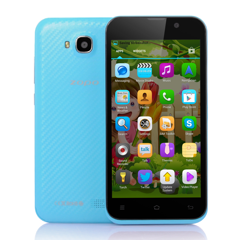 Wholesale ZOPO ZP700 - 4.7 Inch Quad Core Android 4.2 Phone (1.3GHz CPU, 960x540, 8MP Rear Camera, GPS, Blue)