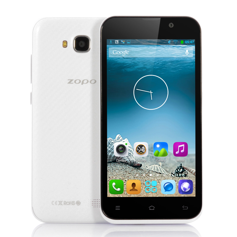 Wholesale ZOPO ZP700 - 4.7 Inch Quad Core Android 4.2 Phone (1.3GHz CPU, 960x540, 8MP Rear Camera, GPS, White)