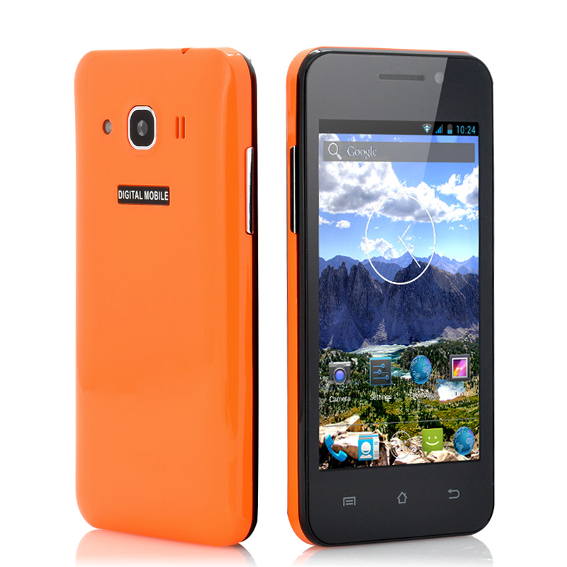 Wholesale Sierra - Android 4.2 Mobile Phone with 4 Inch IPS Screen (1.3GHz Dual Core CPU, GPS, Orange)