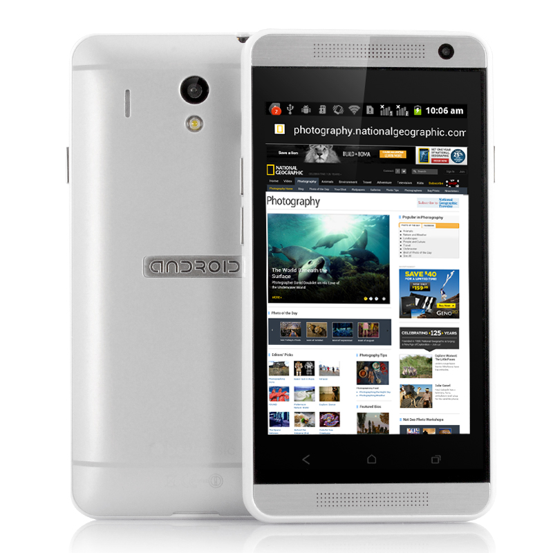 Wholesale Shaman - Budget 4 Inch Android Smartphone (Spectrum SC6820 1GHz CPU, 512M RAM, White)