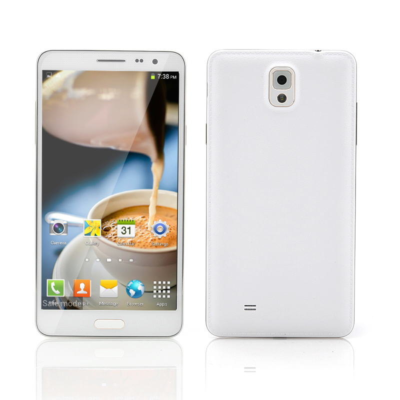 Wholesale Scribble - 5.7 Inch Android 4.2 Smartphone (Quad Core 1.2GHz CPU, 720p, 8GB, Gold)