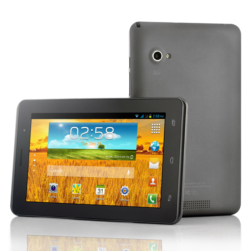 Wholesale Eclipse - Budget 3G Android Tablet PC (Dual SIM, 7 Inch, 1GHz Dual Core CPU, GPS, Analog TV)