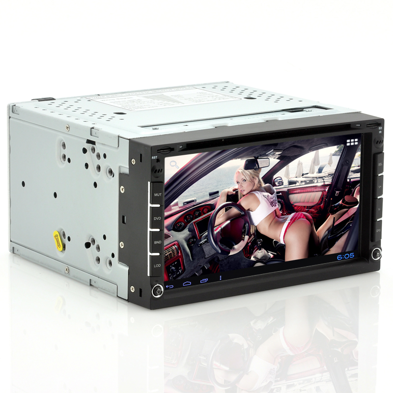 Wholesale Roadoraptor II - 2 DIN Android Car DVD Player w/ 7 Inch Touch Screen (GPS, DVB-T, 8GB)