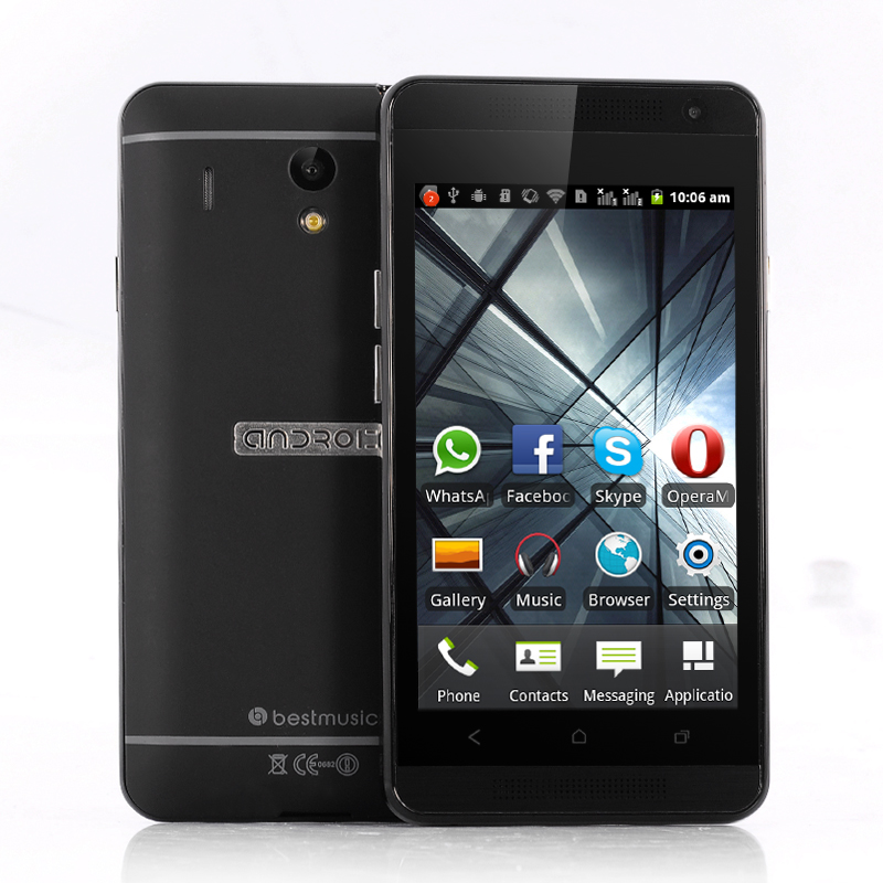 Wholesale Shaman - Budget 4 Inch Android Smartphone (Spectrum SC6820 1GHz CPU, 512M RAM, Black)