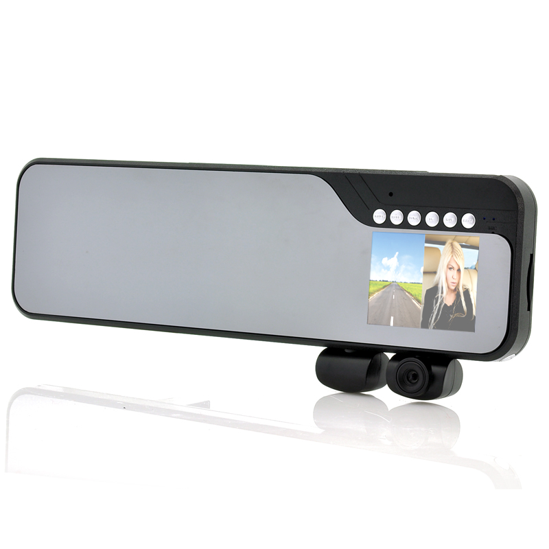 images/electronics-china/Car-Rear-View-Mirror-with-Dual-Camera-Dashcam-DuoView-2-7-Inch-Screen-2-Dash-Cameras-Wide-Angle-Lens-plusbuyer.jpg