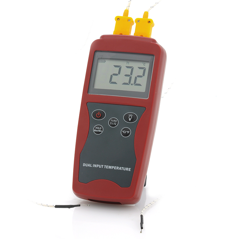 Wholesale Digital Thermometer with K-Type Cable (C or F Temperature Display, 0.3% Accuracy)