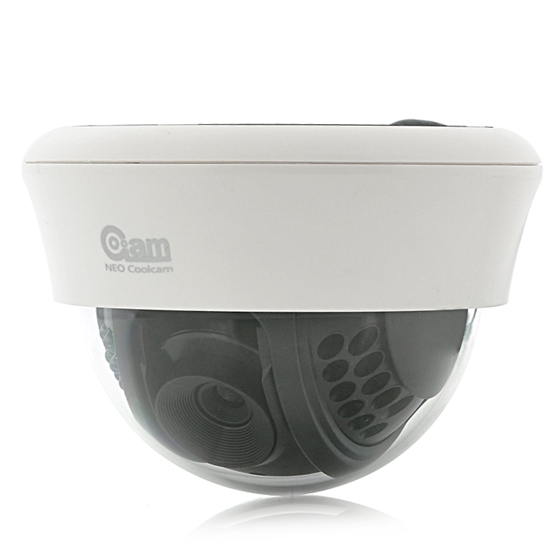 Wholesale NEO Coolcam NIP-12 - 1/5 Inch Dome IP Camera (Plug & Play, 640x480, 22 IR LEDs, Night Vision)