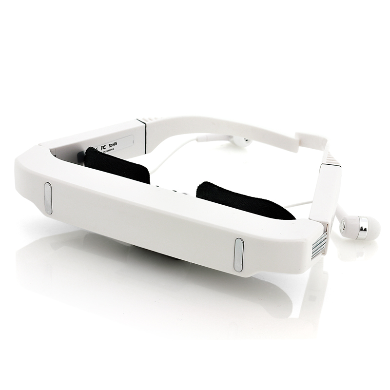 Wholesale Rechargeable Mobile Theater Video Glasses with 84 Inch Virtual S
