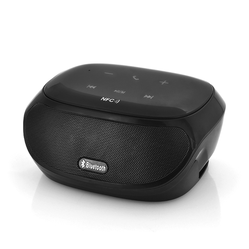 Wholesale TouchConnect - Portable NFC Bluetooth Speaker (2x 3W, Touch Buttons, FM Radio, 1000mAh Battery)